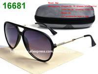 sunglasses women brand designer glasses (band box + cloth + case)