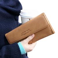 Drop shipping!New 2014 women's PU envelope clutch bag long leather Wallet Ladies designer Purse Checkbook Handbag HS-4-L6