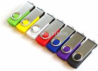 Hot Sale Swivel Rotating Enough Capacity 4GB 8GB 16GB 32GB USB Flash Drive 2.0 Memory Stick Car Pen Drive