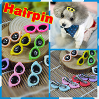 High Quality Factory Directly Sunglasses Designs Hairpin for Cat Rabbit Dog Ornament 300pcs/lot Pet Grooming Accessories