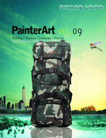 Outdoor climbing package 90 l high-capacity camouflage double camping backpack backpack