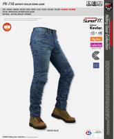 High quality KOMINE PK-718/PK-719 Super Fit Kevlar Denim Jeans Motorcycle ride jeans/off road motocross racing pants  S-3XL