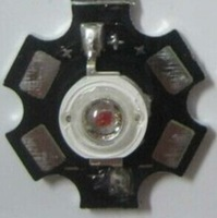 10pcs/lot  3W High Power LED Deep Red 650-660nm LED chip for Plant Light Grow with 20mm pcb
