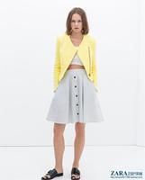 ZA Fashion Jacket Blazer Women Suit Foldable Long Sleeves Coat  Vogue Blazer S-L