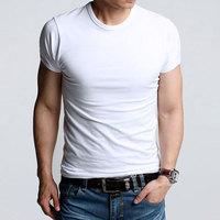 Men's t-shirts 100% cotton sports Man causal shirt Male clothing causal undershirts O-neck Gym active shorts tshirts Promotion