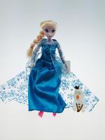 2014 New Frozen Doll Frozen princess Toys  Elsa and Anna with olaf Doll Brinquedos Kids Dolls for Girls Free shipping
