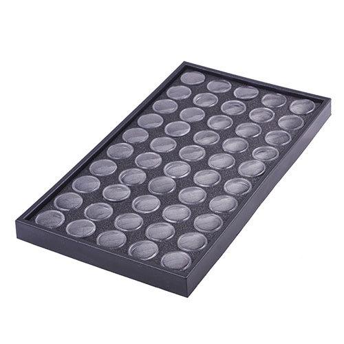 50Pcs Nail Art Clear Empty Box Glitter Dust Powder Jewelry Display Cases#32436(China (Mainland))