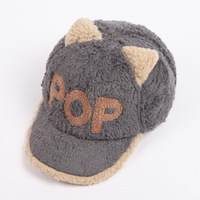 POP Orecchiette plush new winter baseball cap Trendy hip-hop hip-hop hat hat cap wholesale
