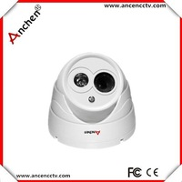 "Free shipping Lowest Price Array IR CCTV Camera 1/4""CMOS 700TVL 6mm  Lens CCTV Dome Camera"