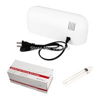 2015 Led Nail Lamp US 110v Newest 9W Nail Dryer Timer Dryer Uv Nail Lamp Gel Curing Ferramentas Kit light