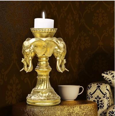 continental retro vela casamento criativo mobiliário doméstico mesa da sala lareira decoração decoração presentes frete grátis(China (Mainland))