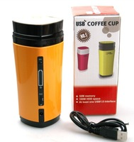 Usb  heating temperature coffee cup rechargeable charge coffee cup USB vacuum cup automatic carry