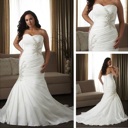 Wd1537 corset cheap plus size wedding dresses for big girl for Wedding dresses for big women