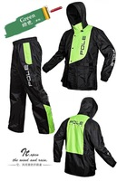Motrocycle Fashion  Windproof and Waterproof Raincoat Men and Women Rain Suit Rainwear Various Color