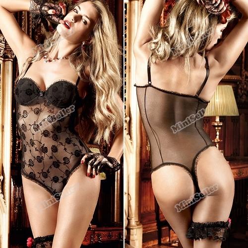 miniseller сексуальная fahsion черный цветочные тюль