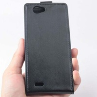 2014 THL 4400 Case  Open Up and Down PU Leather Case for THL 4400 Android Phone Free Shipping With Tracking Code