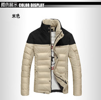 New arrivals 2014 free shipping men down jacket winter down parka man overcoat 4 colors free shipping