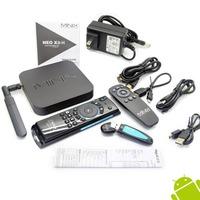MINIX NEO X8-H X8 H X8H 4K Android  TV Box Quad Core Amlogic S802-H 2GB 16GB XBMC Kitkat 4.4 + MELE F10 PRO (upgrade) Airmouse