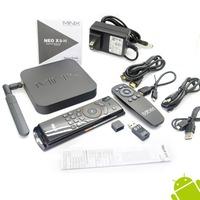 MINIX NEO X8-H X8 H X8H 4K Android Smart  TV Box Quad Core Amlogic S802-H 2GB 16GB XBMC Kitkat 4.4 + MELE F10   Airmouse