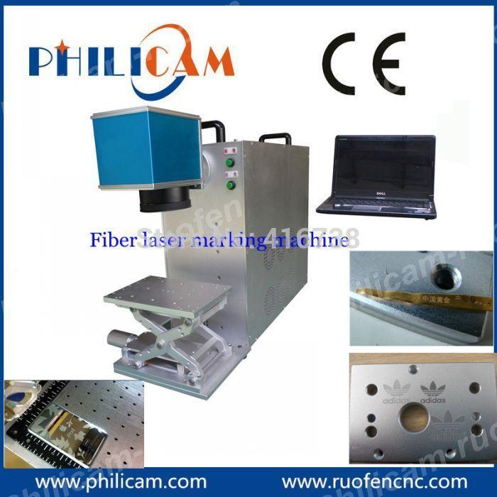 HOT!! 10W/20W Portable Fiber Nd Yag Laser Metal Marking Machine(China (Mainland))