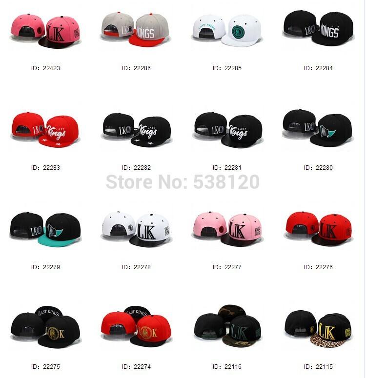 wholesale 2014 new fashion brand snapback cap Tha Alumni last kings mixed order baseball hat flat casquette snap backs kenka(China (Mainland))