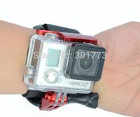 Go pro Accessories Go pro Wrist Mount Clip Belt /Strap+Go pro hero 3+ Waterproof case Lock