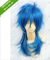 Dramatical Murder DMMd AOBA Long Blue mix wig
