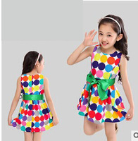 Wholesale princess 2014 summer 4pcs baby girls dancing clothing princess children tutu kids dress 3~5age