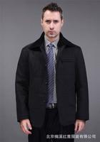 New 2014 autumn Brand Man's Outerwear Slim Hooded cotton Jacket Men Winter Warm Coat Comfortable clothes parka plus size