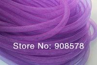 Free Shipping 8mm Plain Tubular Crinoline Tube Crin Horsehair Braid Trimming 90yard/lot #33Color