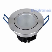 R090G FROSTED Bridgelux 3W 9W LED downlight LED downlamps Down lamps 90-260V AC
