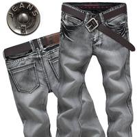 jeans 2014 men's fashion jeans men big sale autumn clothes new fashion brand Men's pants Wash do old retro men's jeans