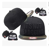 1pc/lot 2014 Hot Sale Set Unisex Its Not Bragging BBOY Snapback Hip Hop Cap Baseball Skateboard Hat YS9301