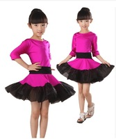 Children's Latin Dance clothing apparel provisions dress girl's 2014