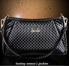 2015 new fashion Women genuine leather handbags hand Women shoulder messenger bag serpentine Leopard bags 553