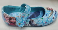 EMS AU Free shipping High Quality frozen anna and elsa shoes flats shoes SNEAKER 12 pairs/lot