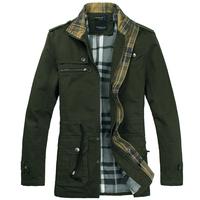 2014 New Arrival Men's Winter Coat Padded Jacket Autumn Winter Out wear Men's Casual Coat