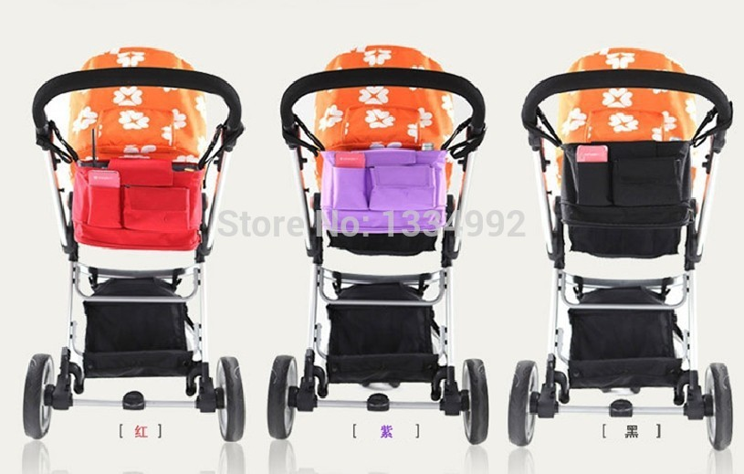 AliExpress.com Product - 2014 new  hanging storage Mummy bag mulitfunction baby nappy diaper bags organizer baby car 3 colors