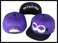 fashion cartoon Minions Dr Nefario hiphop parent-child summer cap baseball sun hats sunbonnet hat for adult kids men women