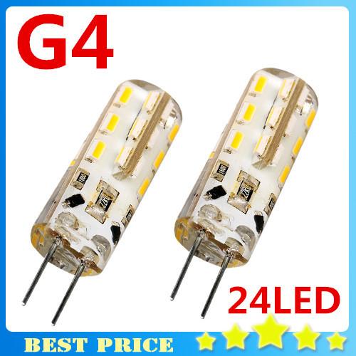 2X SMD 3014 3W 12V G4 LED Lamp Replace 20W halogen lamp 360 Beam Angle LED Bulb Crystal Chandelier Corn Light Led Bulbs Tubes(China (Mainland))