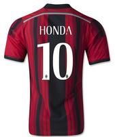 14-15 AC miland jersey AAA+++thailand Ac milan home HONDA NO.10 jersey,customized name number AC miland home soccer jersey