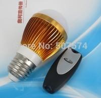 3w energy saving led rf Remote control Free