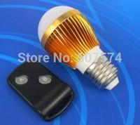 3w energy saving led rf wireless Remote control Free