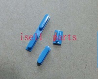 Side Button Set for Phone 5C Replacement Parts Power Key Volume Switch and Mute Key ,blue