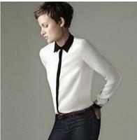 New 2014 Fashion autumn summer women blouses small stand collar shirt chiffon shirt female long-sleeve shirt blouses women