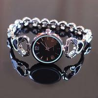 4 colors New Fashion Japan Movement Women Rhinestone Watches Stainless Steel Quartz Watches 1piece/lot BW-SB-827