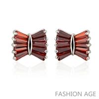 2014 New design Swiss Zircon Stud Earrings ( 5 Colors)  Austrian Crystal top Quality Stud earrings for women (FE-120)