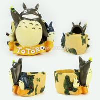 Polyresin totoro mascot for garden pot mascots for kids