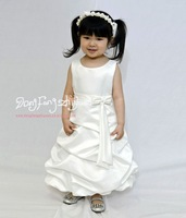new 2014 pageant gowns kids for wedding dress flower girl dresses (size6-14year)