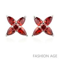 2014 New design Swiss Zircon Stud Earrings exaggerated Austrian Crystal women's top Quality Stud earrings (FE-127)